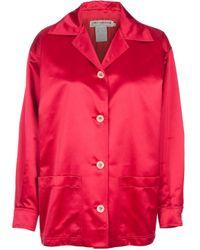 Guy Laroche - Red 80's Style Jacket - Lyst