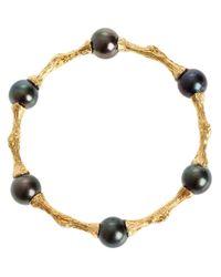 Samira 13   Black Silver Bracelet   Lyst