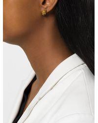 Imogen Belfield Metallic 'little Droplets' Earrings