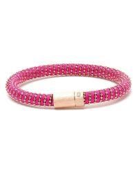 Carolina Bucci - Multicolor Twisted 18k Gold-plated Sterling Silver Bracelet - Lyst