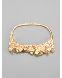 Niza Huang - Metallic 'under Earth' Two Finger Ring - Lyst