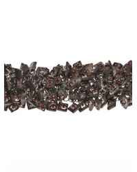 Jean-Francois Mimilla - Red Jean-françois Mimilla Chain Cluster Bracelet - Lyst