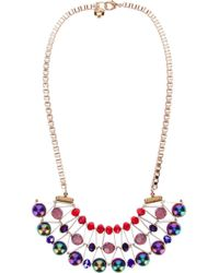 Scho | Metallic 'cake' Necklace | Lyst