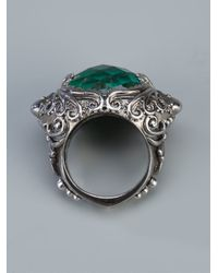 Stephen Webster | Metallic 'jewels Verne' Crystal Haze Octopus Ring | Lyst