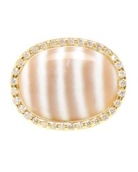 Kimberly Mcdonald | Metallic Chalcedony And Diamond Ring | Lyst