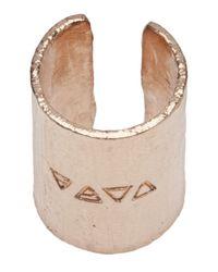 Bjorg - Pink Bronze Ring - Lyst