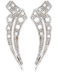 V Jewellery - Metallic 'deco Apollo' Earrings - Lyst