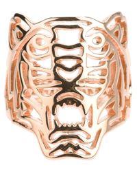 KENZO | Metallic 'tiger' Ring | Lyst