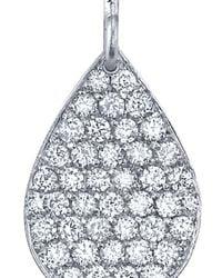 Irene Neuwirth - Metallic Pear Drop Diamond Earrings - Lyst