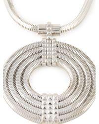 Lara Bohinc | Metallic 'apollo' Long Necklace | Lyst
