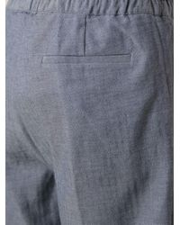 Kris Van Assche - Blue Loose Fit Shorts for Men - Lyst