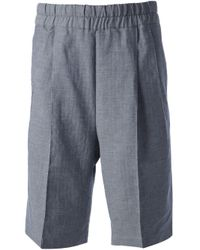 Kris Van Assche - Blue Loose Fit Shorts for Men - Lyst