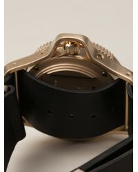 Givenchy Green 'seventeen' Watch