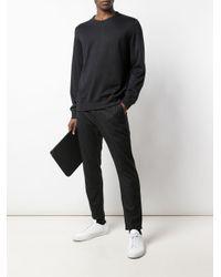メンズ Brunello Cucinelli ラウンドネック セーター Black