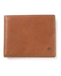 Mulberry - Brown Logo Billfold Wallet for Men - Lyst