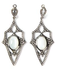 Loree Rodkin | Metallic 'kaleidoscope' Diamond Earrings | Lyst