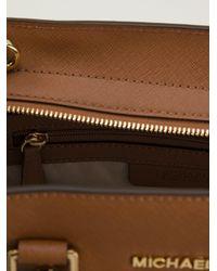 MICHAEL Michael Kors Brown 'selma' Tote Bag
