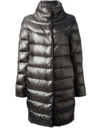 Herno | Black Padded Coat | Lyst