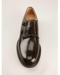 Church's Black 'lambourn' Monk Shoes for men