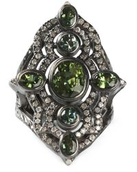 Loree Rodkin | Metallic Embellished Ring | Lyst