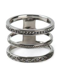 Nikos Koulis | Metallic Three In One Ring | Lyst