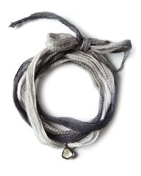 Christian Koban | Gray Tie Pendant Necklace | Lyst