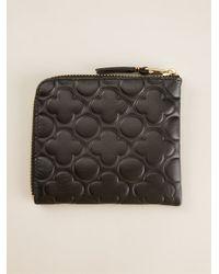 Comme des Garçons Black Comme Des Garçons Wallet 'classic Embossed B' Wallet