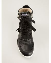 Dolce & Gabbana - Black Hi-top Sneakers - Lyst