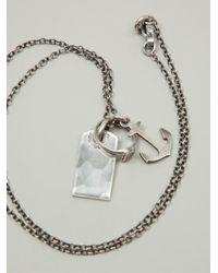 Werkstatt:münchen - Metallic 'm361' Necklace - Lyst