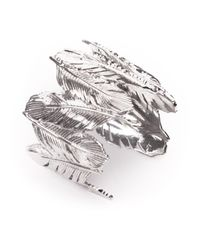 Joanna Laura Constantine | Metallic 'feather' Cuff | Lyst