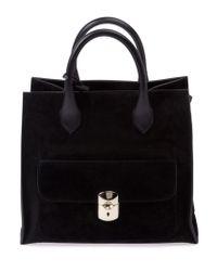Balenciaga - Black Pocket Tote Bag - Lyst