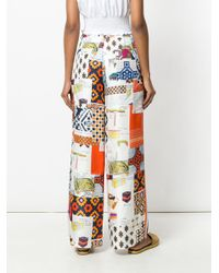 Tory Burch Multicolor Sienna Trousers