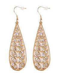 Serpui | Metallic Embellished Earrings | Lyst