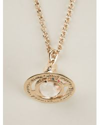 Vivienne Westwood Anglomania | Metallic Gem Stone Orb Necklace | Lyst