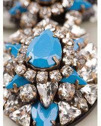 Shourouk - Blue 'zulu' Necklace - Lyst