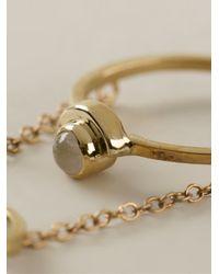 Pamela Love | Metallic 'gravitation' Chain Ring | Lyst
