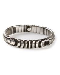 Janis Savitt | Metallic Medium 'cobra' Bracelet | Lyst