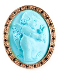 Amedeo | Blue Angel Ring | Lyst