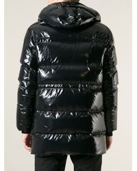 Dior Homme - Black Hooded Coat for Men - Lyst