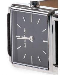 Isabel Marant Black Square-shaped Watch