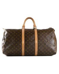 Louis Vuitton Brown '55' Travel Bag
