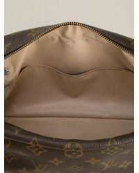 Louis Vuitton Brown Monogram 'trousse 28' Pouch