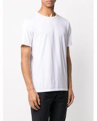 メンズ Neil Barrett ハートパッチ Tシャツ White