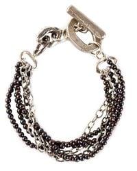 Henson | Metallic 'multi Strand' Bracelet | Lyst