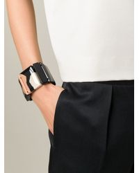 Marni - Black Elasticated Detail Bracelet - Lyst