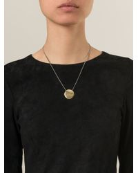 Bjorg - Metallic 'make The Sun Come Out' Necklace - Lyst