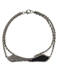 Garrard | Metallic 'double Wing' Bracelet | Lyst