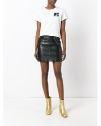 Marc Jacobs - White Mtv Embroidered T-shirt - Lyst