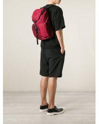 Moncler - Red 'gerard' Backpack for Men - Lyst