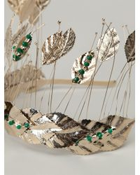 Rosantica - Green 'pocahontas' Leaf Head Band - Lyst